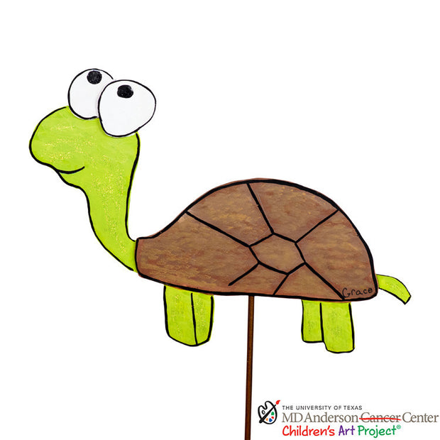 MD Anderson Grace's Turtle by The Round Top Collection S9000 - FancySchmancyDecor