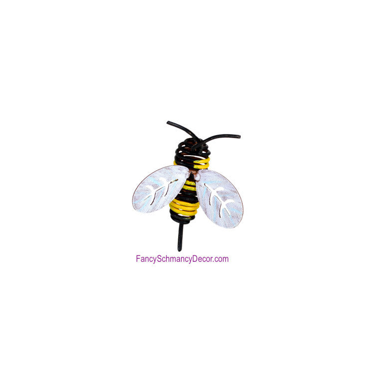 Bumble Bee Magnet by The Round Top Collection S9086 - FancySchmancyDecor