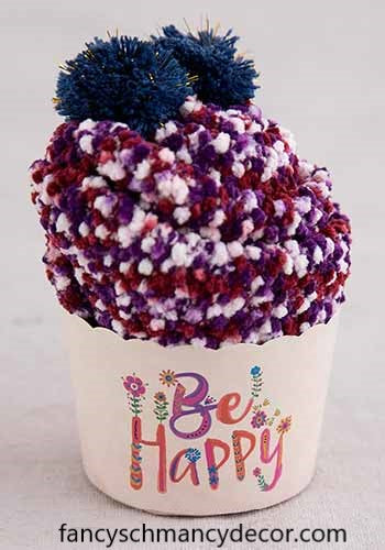 Be Happy Cupcake Socks by Natural Life