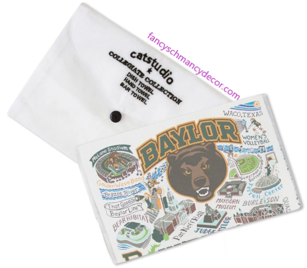 Baylor University Collegiate Dish Towel