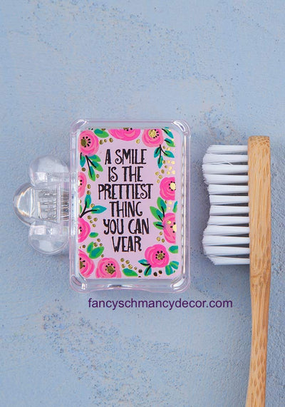 Smile is the Prettiest Toothbrush Cover by Natural Life