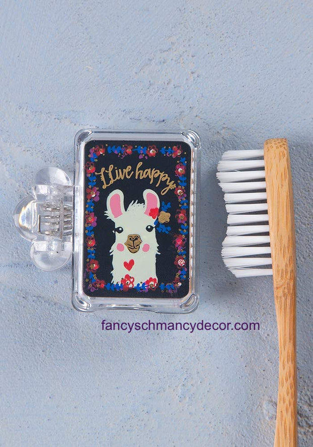 Llive Happy Llama Toothbrush Cover by Natural Life