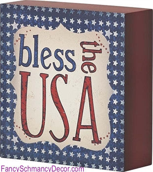 Bless the USA - FancySchmancyDecor