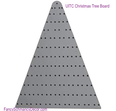 "20"" Plastic Tree Shape Wreath Making Board by UITC"