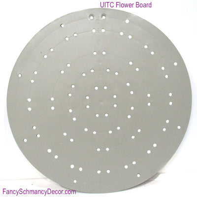 "15.5"" Plastic Flower Shape Wreath Making Board by UITC"