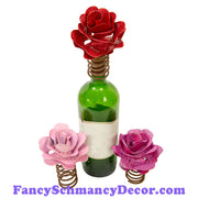 Rose Bottle Topper by The Round Top Collection V18008