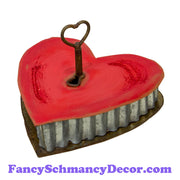 Keyhole Heart Box by The Round Top Collection V19000