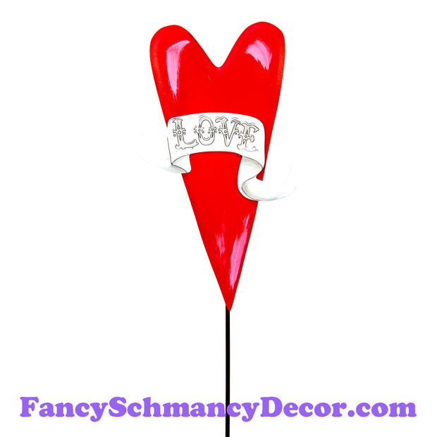 Gallery Love Heart Stake by The Round Top Collection V19047