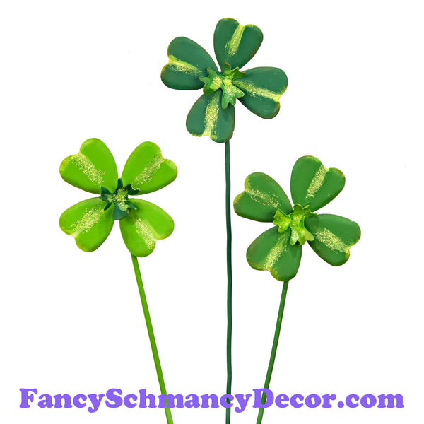 Four Leaf Clover Mini S/3 by The Round Top Collection V19053