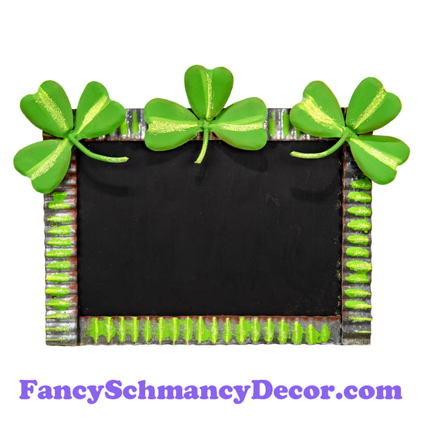 Pile of Clovers Chalkboard by The Round Top Collection V19059