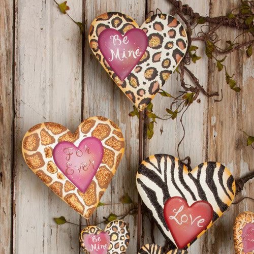 Valentine Animal Love Hearts V5000 by The Round Top Collection - FancySchmancyDecor