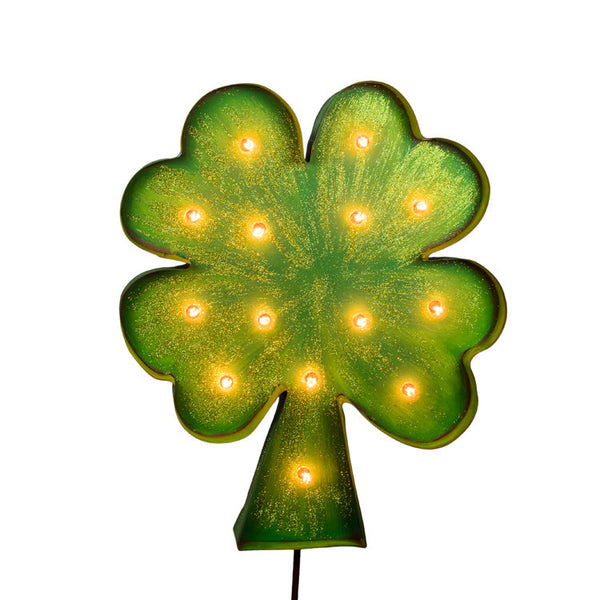 Irish & Bright Shamrock The Round Top Collection V9014 - FancySchmancyDecor