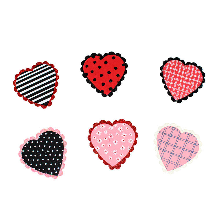 Valentine Sweetheart Magnets Asst. Set of 6 The Round Top Collection V9047 - FancySchmancyDecor
