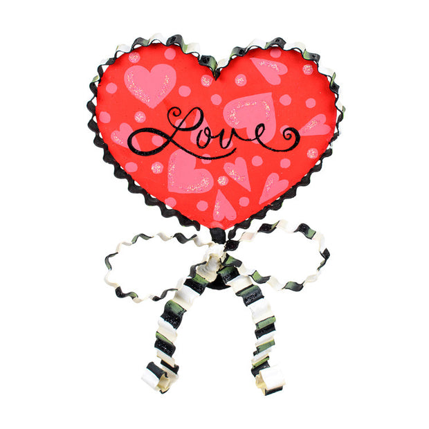 Valentine Love Finial The Round Top Collection Y9071 - FancySchmancyDecor