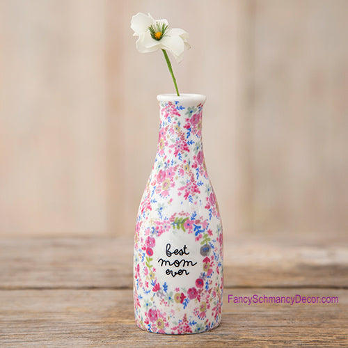 """Best Mom Ever"" Vase by Natural Life"