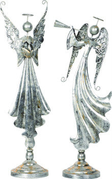 Holiday - Angel Silver Metallic - FancySchmancyDecor