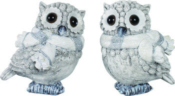 Holiday Winter Owl - FancySchmancyDecor
