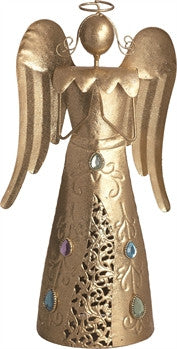 Holiday - Angel with Jewels Tree Top - FancySchmancyDecor