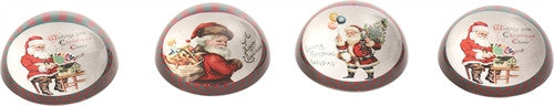Santa Paper Weights - FancySchmancyDecor