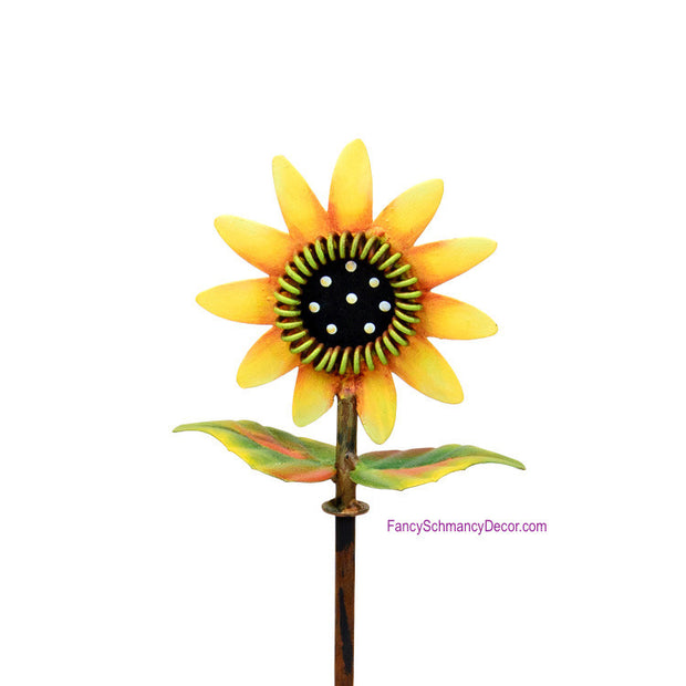 Whimsical Sunflower Finial The Round Top Collection Y16002