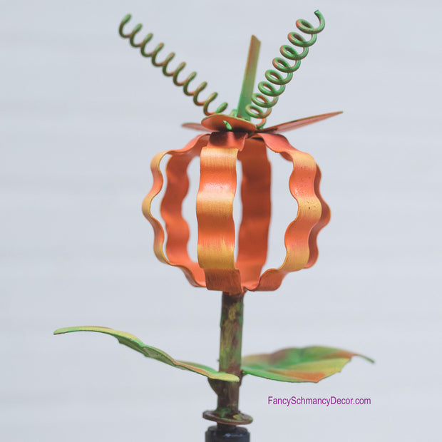 Ribbon Pumpkin Finial The Round Top Collection Y16004