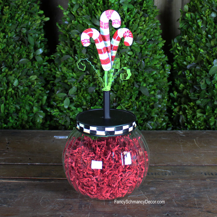 Candy Cane Finial The Round Top Collection Y16014