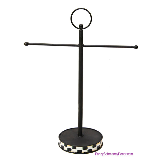 Hand Towel Finial Holder by The Round Top Collection Y18246
