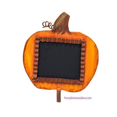 Pumpkin Chalkboard Finial The Round Top Collection Y18276