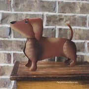 Dress-up Dachshund by The Round Top Collection Y18345