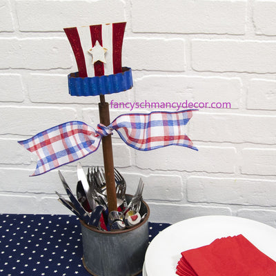 Uncle Sam Hat Finial by The Round Top Collection