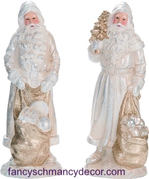 Elegant Santa with Sack Figure