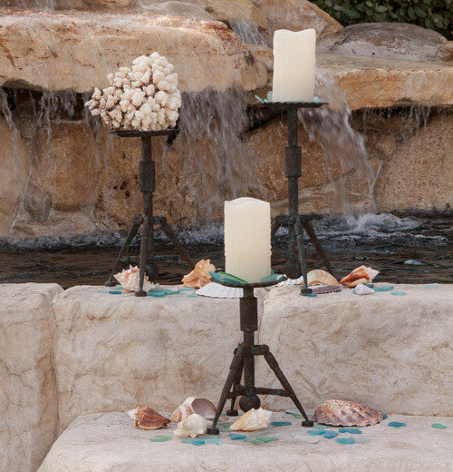 Tripod Candle Sticks - FancySchmancyDecor