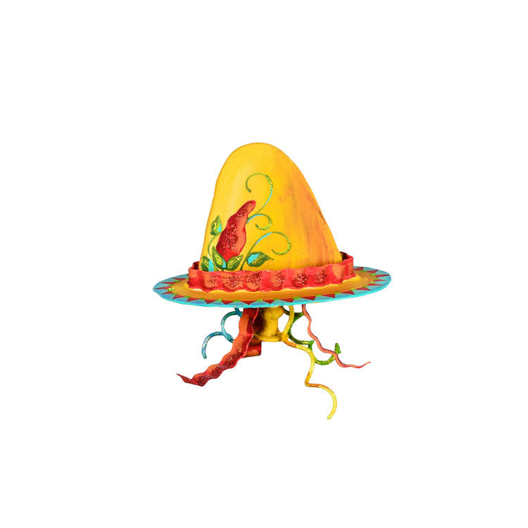 Sombrero Finial by The Round Top Collection Y9051 - FancySchmancyDecor