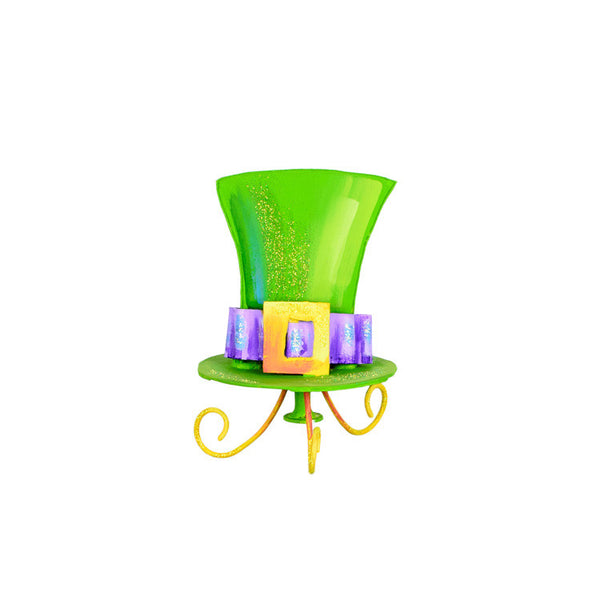 Leprechaun Hat Finial The Round Top Collection Y9068 - FancySchmancyDecor