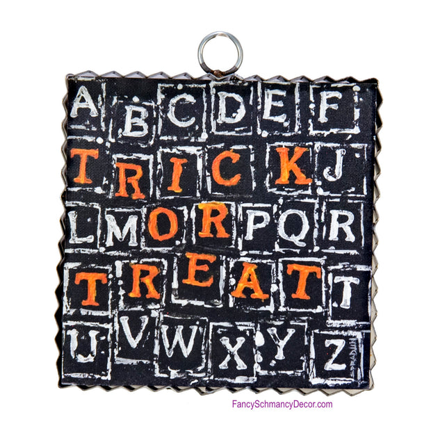 Gallery Trick or Treat Scramble Art by The Round Top Collection F18055