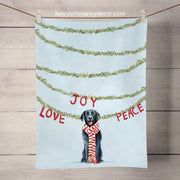 Holiday - Joy Love Peace Tea Towel
