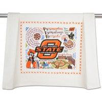 Oklahoma State University Collegiate Dish Towel by Cat Studio