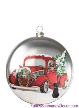 "5"" Disc Homeward Bound Christmas Ornament  by Sullivans Gifts"
