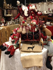 Santa's Red Sleigh - FancySchmancyDecor - 3
