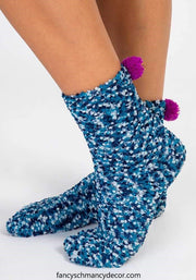 You Make the World Cupcake Socks by Natural Life