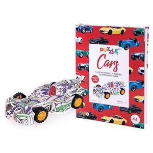 Car Puzzle Gift Book