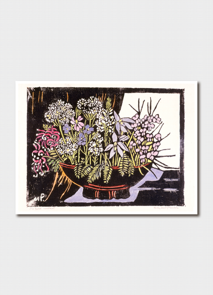 Margaret Preston Greeting Card <br> The Bowl