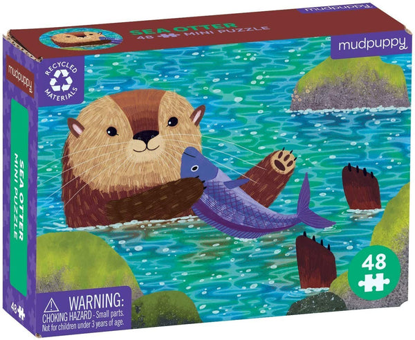 Sea Otter Mini Puzzle <br> 48 piece