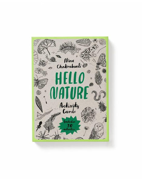 Hello Nature <br> Activity Cards