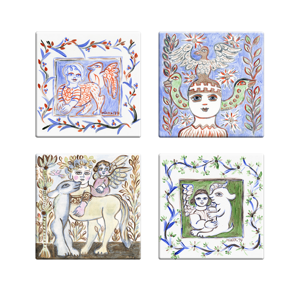 Mirka Mora <br> Coaster Set