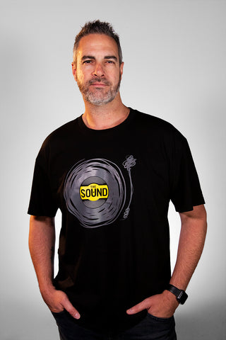 The Sound Vinyl Scribble T-Shirt