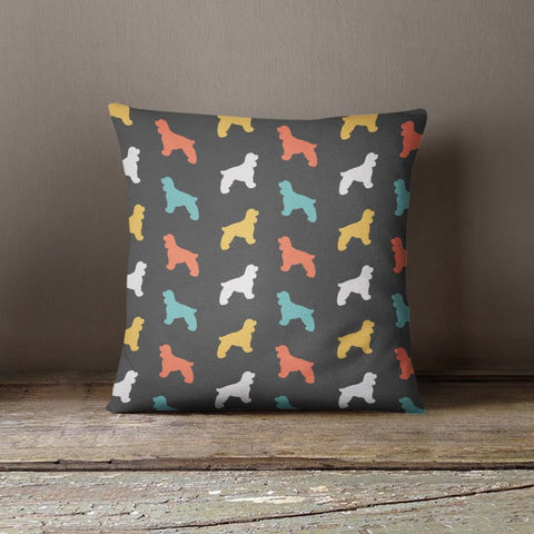 Cocker Spaniel Color Series Pillow