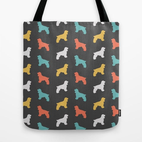 Cocker Spaniel Color Series Tote Bag