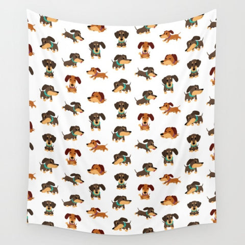 Dachshund Super-Cozy Fleece Blanket