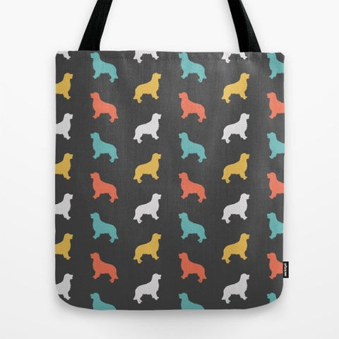 Golden Retriever Color Series Tote Bag